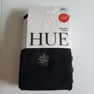 Hue Sweater Tights Medium Black
